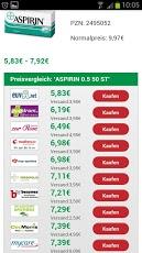 Preisvergleich App Online Apotheken