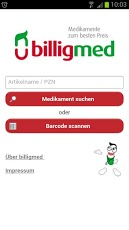 billigmed medizin app start
