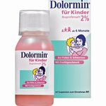 Dolormin für Kinder Ibuprofensaft 2% 100 ML
