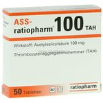 Ass-ratiopharm 100mg TAH 50 ST