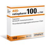 Ass-ratiopharm 100mg TAH 100 ST
