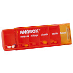 ANABOX-Tagesbox orange 1 ST