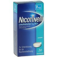 Nicotinell Lutschtabletten 1mg Mint 36 ST - 3061835
